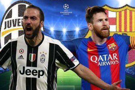Champions da brividi: Juve-Barcellona e Atletico-Roma