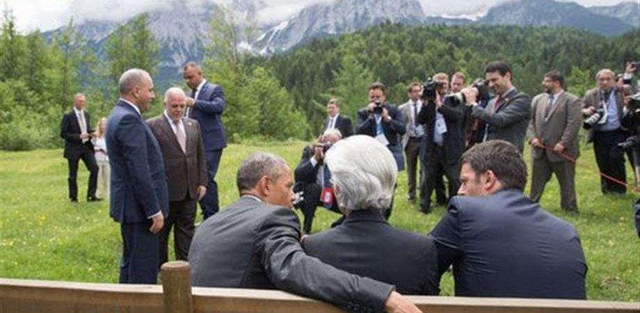 """G7, accordo su clima: """"Limitare riscaldamento a 2 gradi"""""""