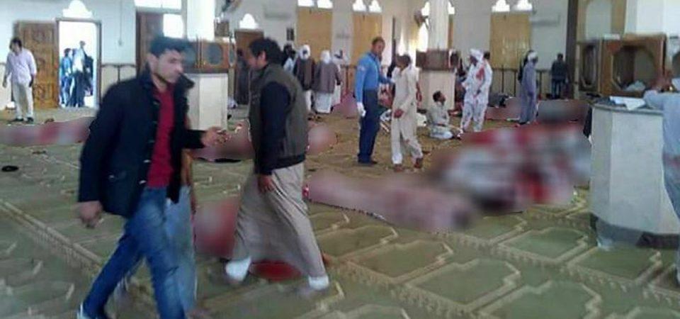Egitto: strage in moschea, oltre 200 morti