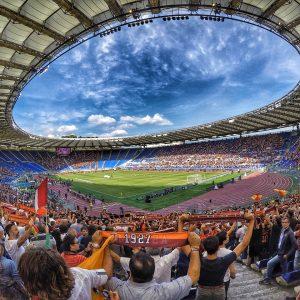 Champions: trionfo Roma, pari per la Juve, oggi Napoli al test Guardiola