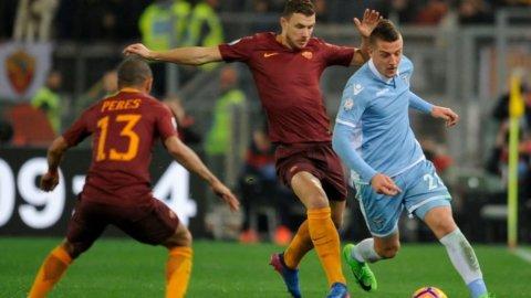 Lazio e Roma in campo tra sogni Champions e sorprese del mercato