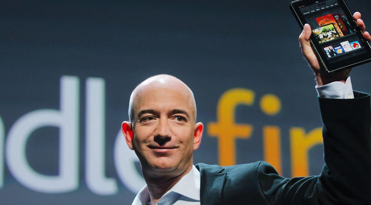 Jeff Bezos ceo di Amazon