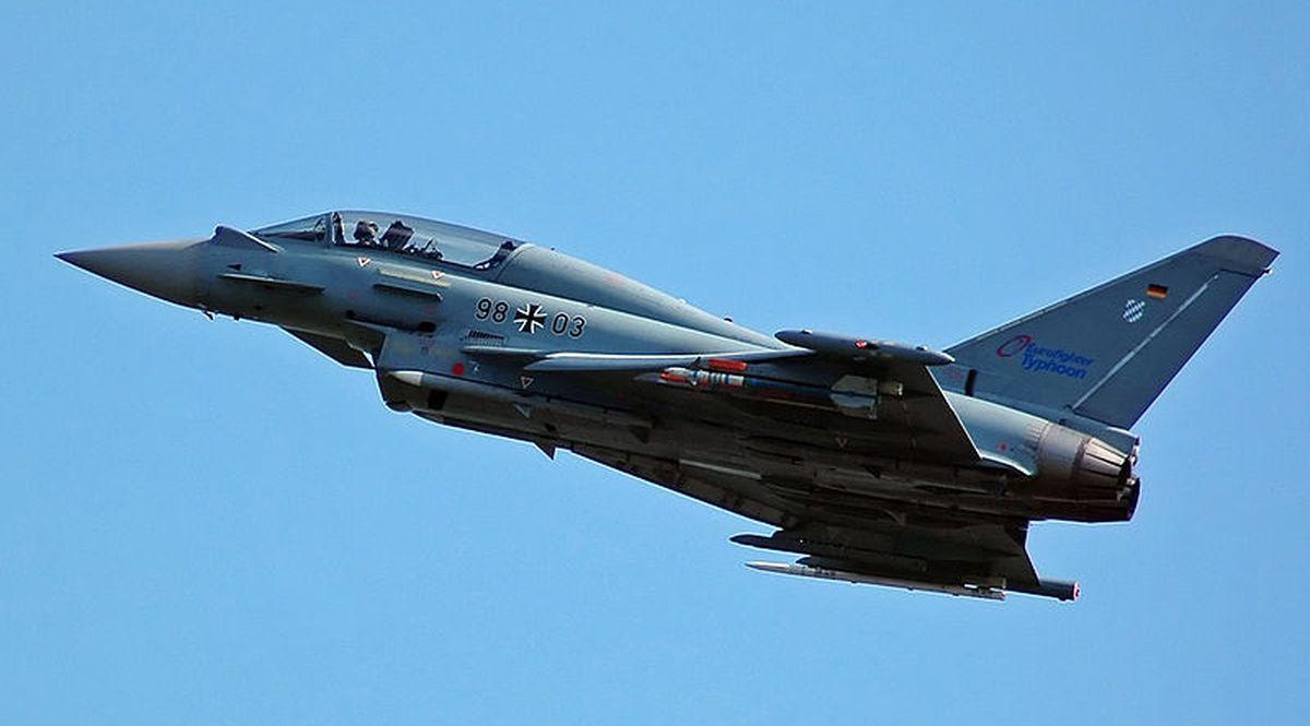 Eurofighter Typhoon di Leonardo