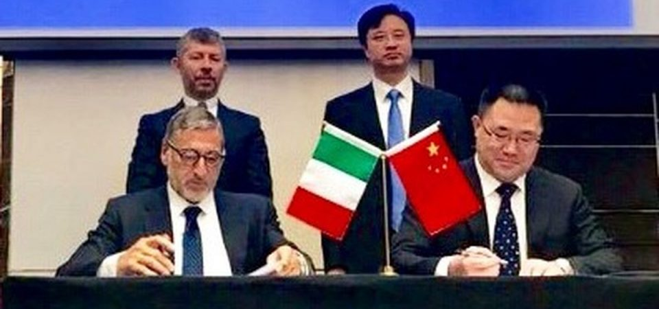 Italferr, accordo con partner cinese per business estero