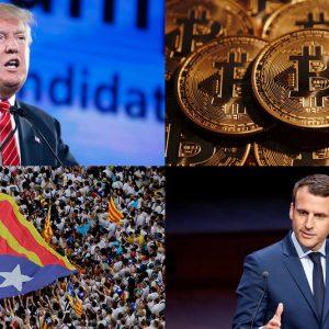 Addio al 2017: da Trump ai Bitcoin, fatti e persone che hanno segnato l'anno
