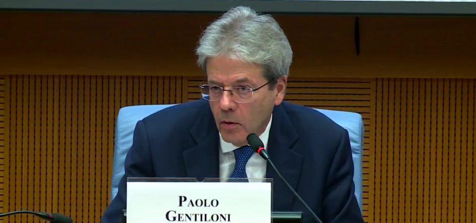 Gentiloni commissario Ue: il Governo ha scelto l'ex Premier