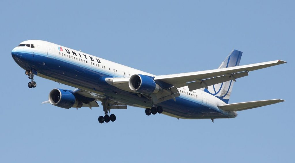 Boeing United Airelines