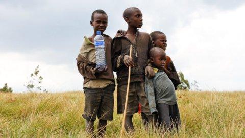 povertà bambini africani