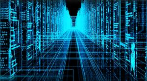 Rappresentazione dei pixel dei big data in un server