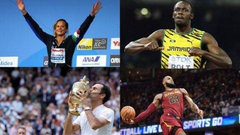 2017, un anno di sport tra campioni eterni, grandi addii e volti nuovi