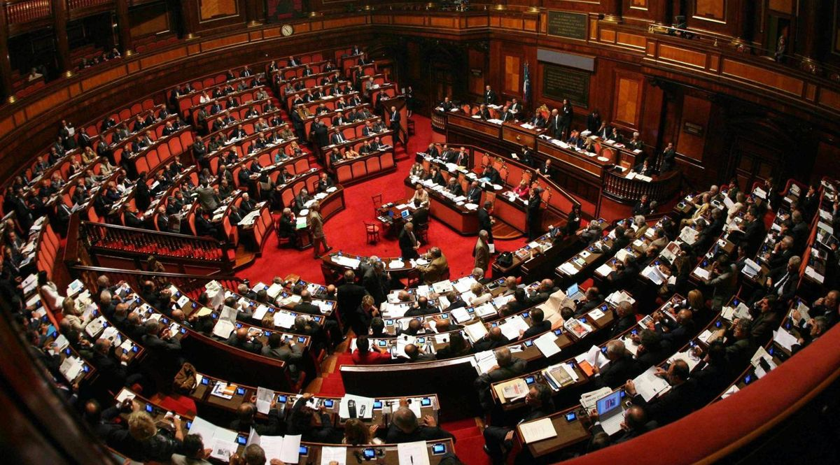 Aula del Senato Palazzo Madama