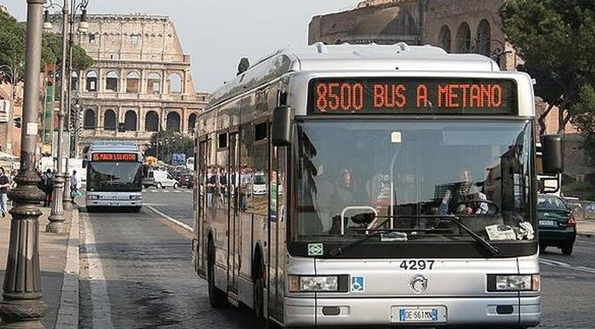 Un autobus Atac a Roma