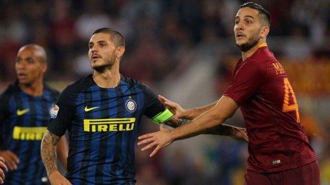 Inter e Roma si giocano la Champions: il campionato riparte