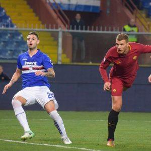 La Lazio vince e scavalca l'Inter, Dzeko regala l'ultimo gol alla Roma