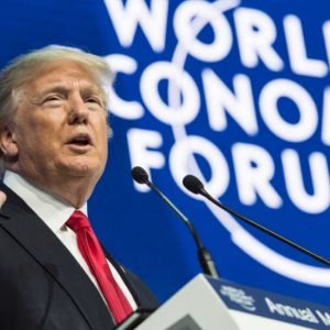 Borse: Davos, impeachment Trump e Atlantia sotto i riflettori