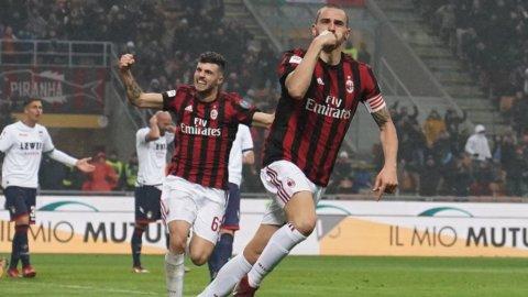 Inter ancora pari, riparte il Milan: 1-0 al Crotone