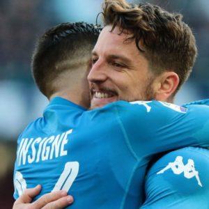 Controsorpasso Napoli: 3-1 al Bologna, azzurri primi