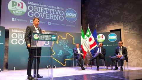 Renzi e Calenda firmano la pace di Milano per fare del Pd il primo partito