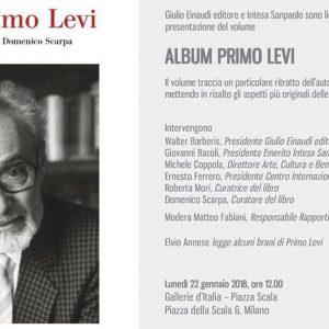 Einaudi e Intesa Sanpaolo presentano l'Album Primo Levi