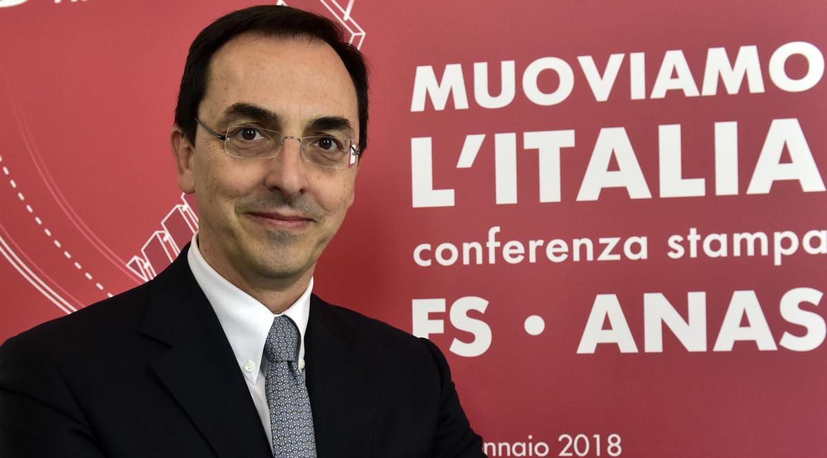 Gianni Vittorio Armani presidente di Anas
