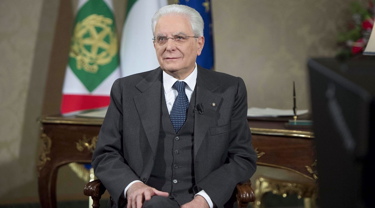 Sergio Mattarella presidente della repubblica 2018