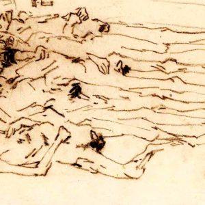 Trieste, 24 disegni su Dachau di Zoran Mušič