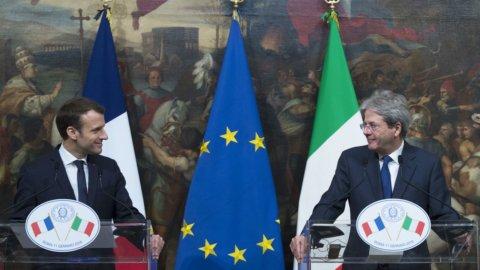 Gentiloni e Macron: ecco il trattato del Quirinale