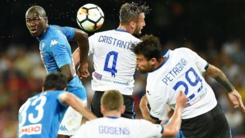 Coppa Italia: l'Atalanta sbanca Napoli, stasera Juve-Torino