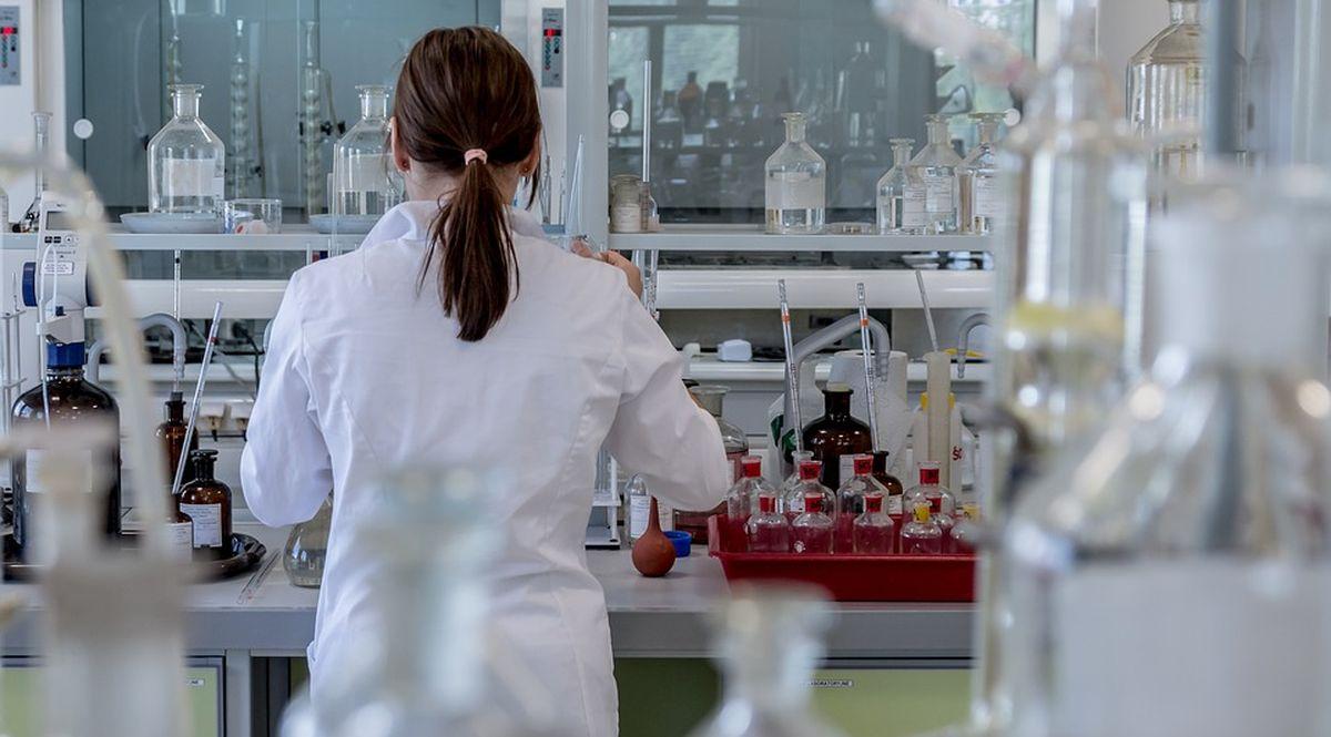 laboratorio di chimica per la farmaceutica