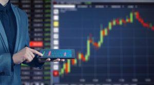 Grafico di borsa a rappresentazione dei mercati