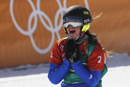 Olimpiadi, Moioli oro nello snowboard cross