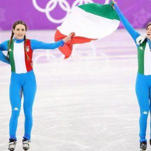 Olimpiadi, due medaglie azzurre: argento short track, bronzo biathlon