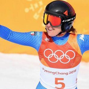 Olimpiadi: magica Goggia, è oro nella discesa libera