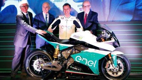 Enel, innova con lo sport: ecco MotoE, il primo Moto Gp solo elettrico