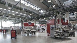 Una fabbrica Gima TT