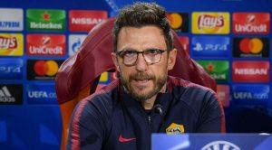 Eusebio Di Francesco allenatore della Roma