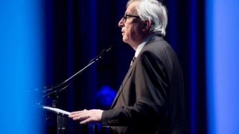 Juncker annusa turbolenze e mette paura ai mercati: Europa in rosso, Milano la peggiore