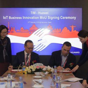Tim e Huawei: accordo sull'Internet of Things