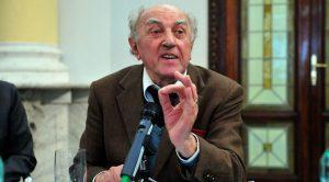 Il sociologo Franco Ferrarotti
