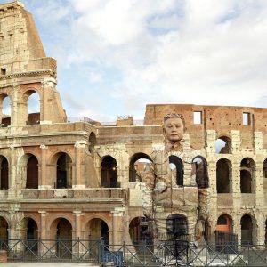 Arte: Liu Bolin, l'artista invisibile cinese in mostra a Roma