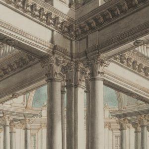 Architettura a Venezia con i disegni di Cerani alla Fondazione Cini