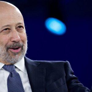 Goldman Sachs: Ceo Blankfein potrebbe lasciare a fine anno