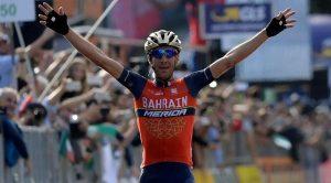 Il ciclista Vincenzo Nibali