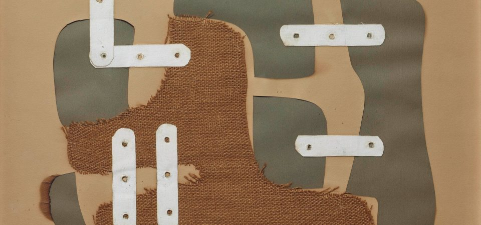 I collage di Conrad Marca-Relli in mostra a Lugano