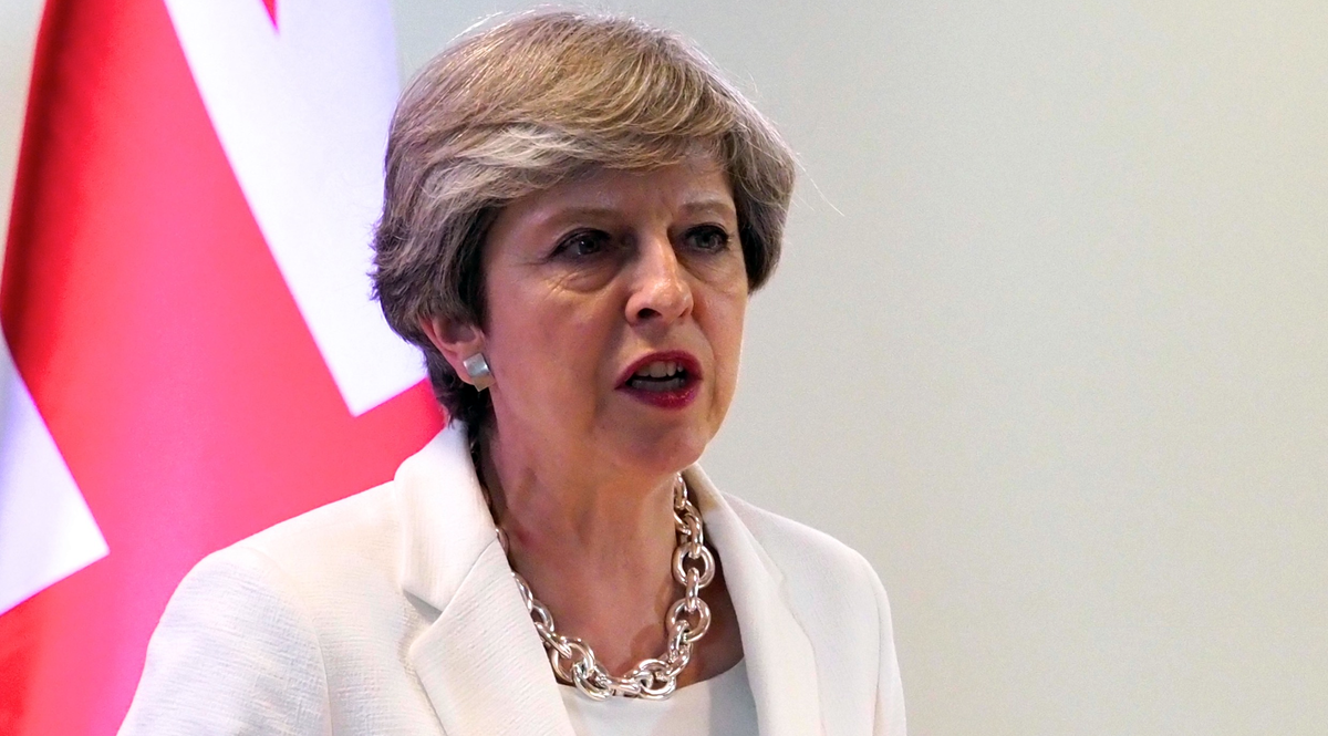 Theresa May premier britannica