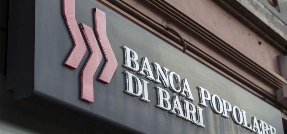 Pop Bari: rosso di 59 milioni, entro 2019 vende CR Orvieto