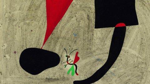 Joan Mirò, l'importante collezione debutta a Padova
