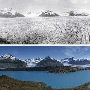 """""""Sulle tracce dei ghiacciai"""", il riscaldamento globale raccontato con le foto"""