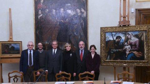Brescia, Ubi restaura i dipinti di Savoldo e Moretto per la pinacoteca Tosio Martinengo
