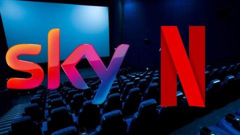 Sky e Netflix, maxi-alleanza: pacchetto unico per le due Tv